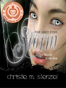 Featured Book: The Grey Eyed Storm: The Occuli, Book One by Christie M. Stenzel