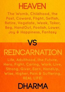 Featured Book: Heaven Vs Reincarnation by Dharma